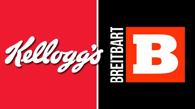 Kelloggs,boycott,Breitbart