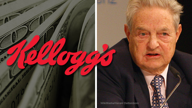 Kellogg's,George Soros,hate groups