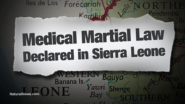Medical martial law