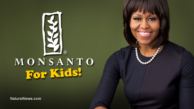 Michelle Obama goes all in for Monsanto in new 'GMOs for children' campaign