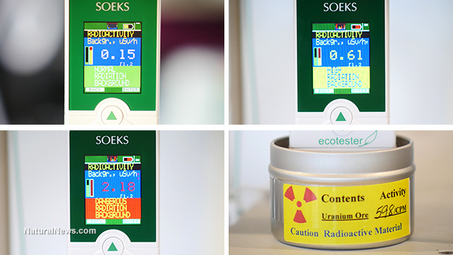 SOEKS radiation meter