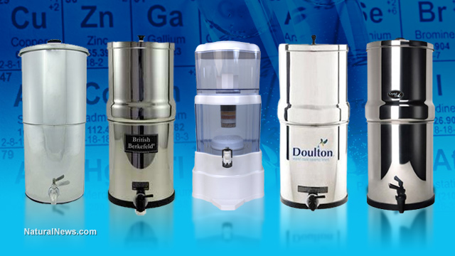 big berkey, propur and gravity water filters: a lab testing update ...