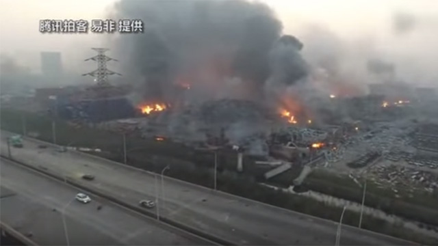 photo of BOMBSHELL: China and America already at war: Tianjin explosion carried out by Pentagon using space-based secret weapon… image
