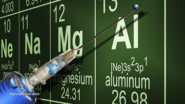 Aluminum exposure