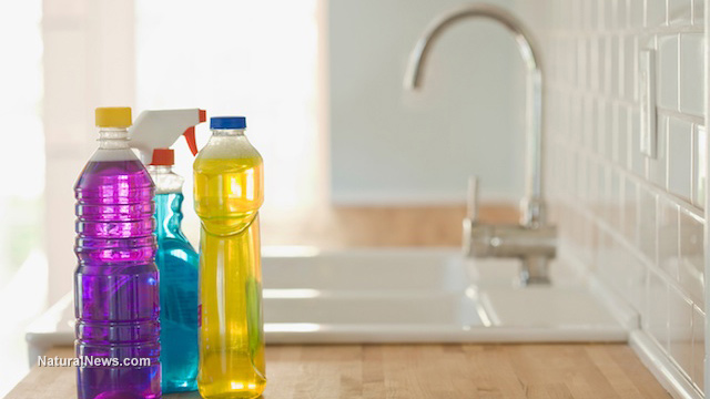Household disinfectants