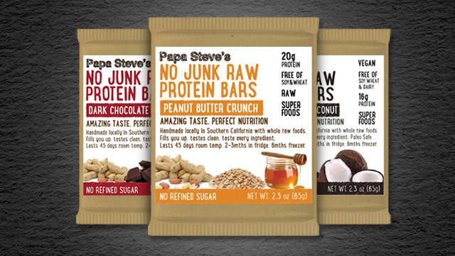 Papa Steve's Protein Bars