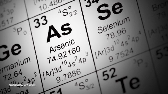 Arsenic contamination