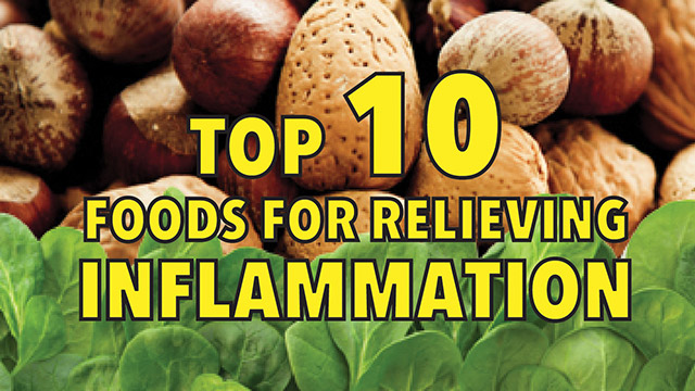 Top 10 functional foods for relieving inflammation