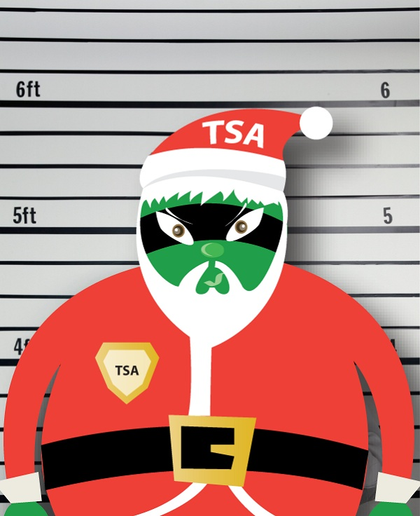 TSA Santa and the Night Before Christmas 11 TSA Santa