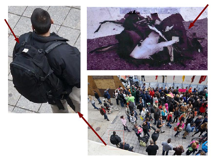 BREAKING: Photo surfaces of The Craft mobile communications van at Boston marathon Bomb Resembles Black Backpack