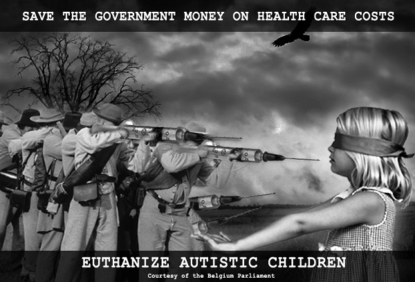 Euthanasia for children nears approval by Belgian Parliament Euthanize Autistic Children 600