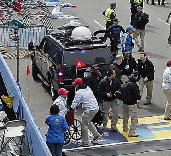 BREAKING: Photo surfaces of The Craft mobile communications van at Boston marathon The Craft Communications Van 600
