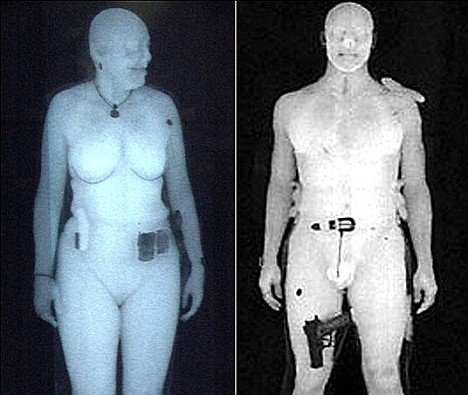 Full body scanners used on air passengers may damage human DNA WaveScanners