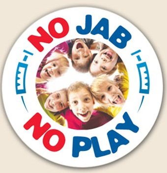 Australian Telegraph newspaper: Unvaccinated children should be raised as outcasts no jab no play