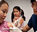 Vaccinated children