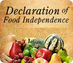 Declaration of Food Independence