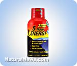 Five-hour energy drinks