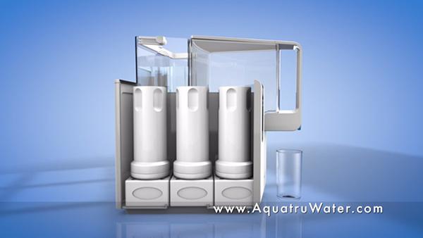 water purification breakthrough revealed: aquatru countertop water ...