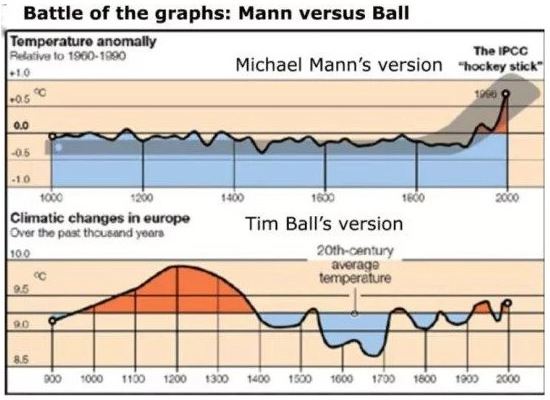 """Climate change hoax collapses as Michael Mann's bogus """"hockey stick"""" graph defamation lawsuit dismissed by the Supreme Court of British Columbia, Totalrehash.com"""
