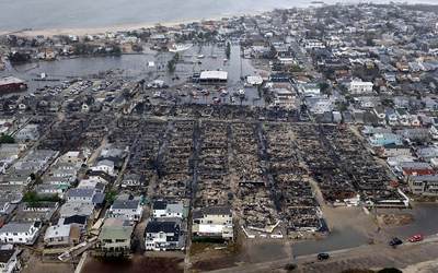 Unrest growing among NJ, NY citizens: Dumpster diving for food, fist fights over fuel, tempers flare in Sandy aftermath Breezy Point Fire Damage That Hartford Guy