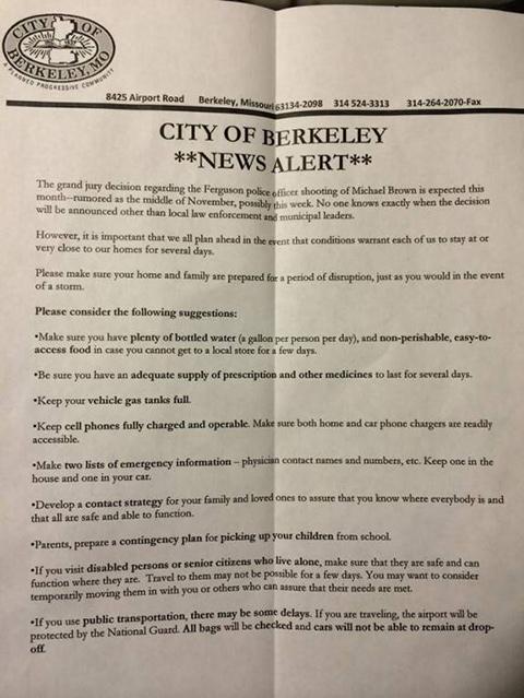 Berkeley letter service