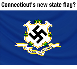 Natural News calls for arrest and prosecution of Connecticut lawmakers who vote for unconstitutional gun control restrictions Connecticuts new state flag 250