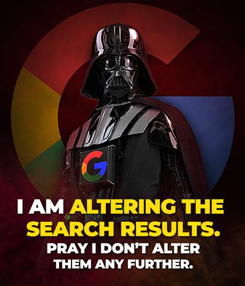 Google is Darth Vader: New meme released – share everywhere Darth-Vader-Search-Results-500