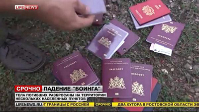 [LifeNews-MH17-Recovered-Passports-400]