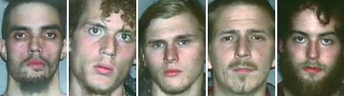 FBI nabs five mastermind geniuses after teaching them how to blow up a bridge in Cleveland Ohio Bridge Plot Suspects