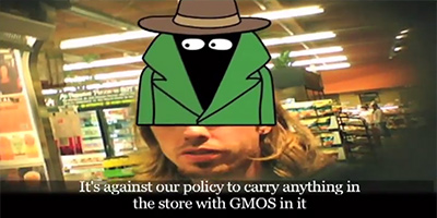 Whole Foods Market whistleblower says employees were deliberately trained to lie about GMOs   new Organic Spies video The Organic Fraud Machine Employee Against Policy