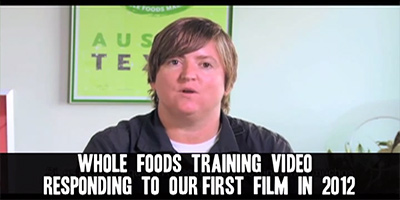 Whole Foods Market whistleblower says employees were deliberately trained to lie about GMOs   new Organic Spies video The Organic Fraud Machine Training Video Response