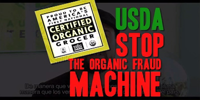 Whole Foods Market whistleblower says employees were deliberately trained to lie about GMOs   new Organic Spies video The Organic Fraud Machine USDA Stop Fraud Machine
