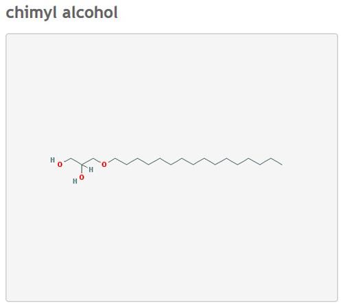 [Image: Tide-C19-H40-O3-chimyl-alcohol.jpg]