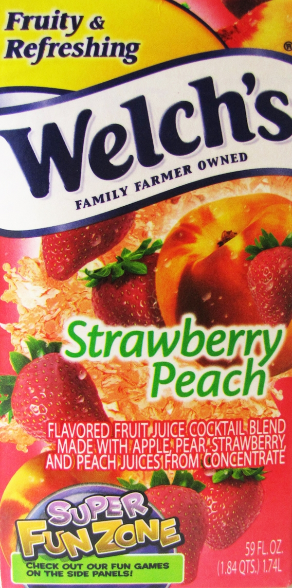 Food investigations: Welchs fruit juice cocktails contain more corn than fruit: 80% water and high fructose corn syrup Welches juice high fructose corn syrup 2
