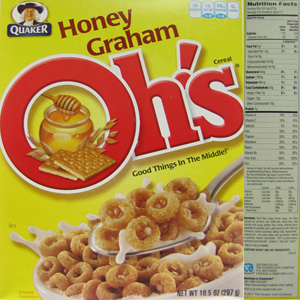 The top 10 breakfast cereals most likely to contain Monsantos GMO corn Honey Graham Ohs