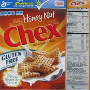 The top 10 breakfast cereals most likely to contain Monsantos GMO corn Honey Nut Chex