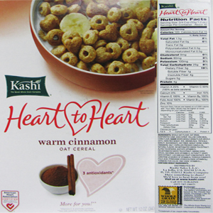 The top 10 breakfast cereals most likely to contain Monsantos GMO corn Kashi Heart to Heart