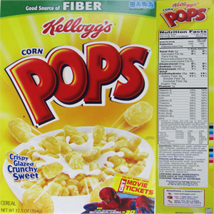 The top 10 breakfast cereals most likely to contain Monsantos GMO corn Kelloggs Corn Pops