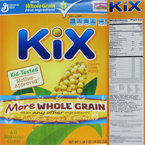The top 10 breakfast cereals most likely to contain Monsantos GMO corn Kix
