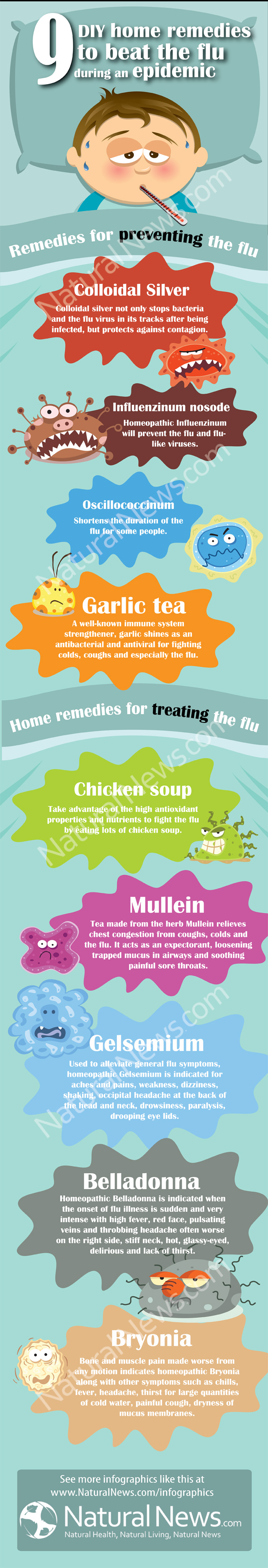 9 Do-it-Yourself Home Remedies to Beat the Flu During an Epidemic