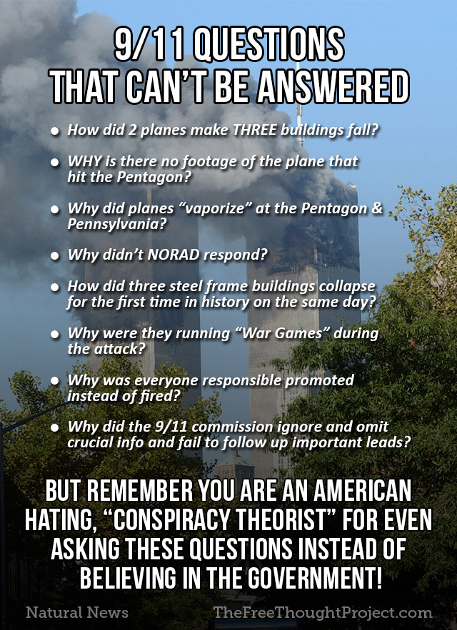 911 questions that cant be answered naturalnewscom