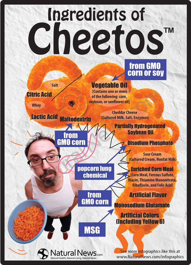 Ingredients of Cheetos ™