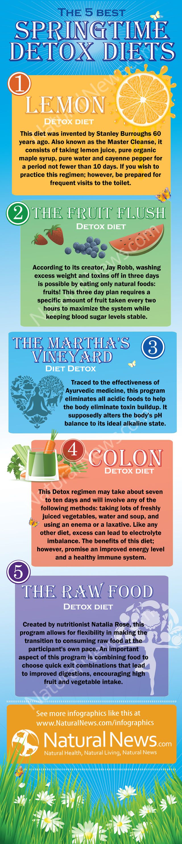 The 5 Best Detox Diets