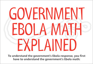 Government Ebola Math Explained