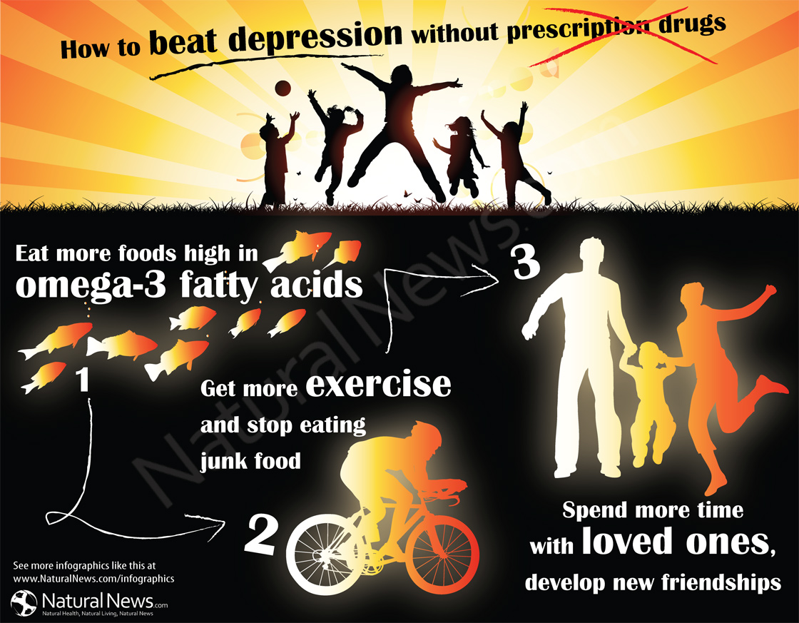 How to Beat Depression Without Prescription Drugs
