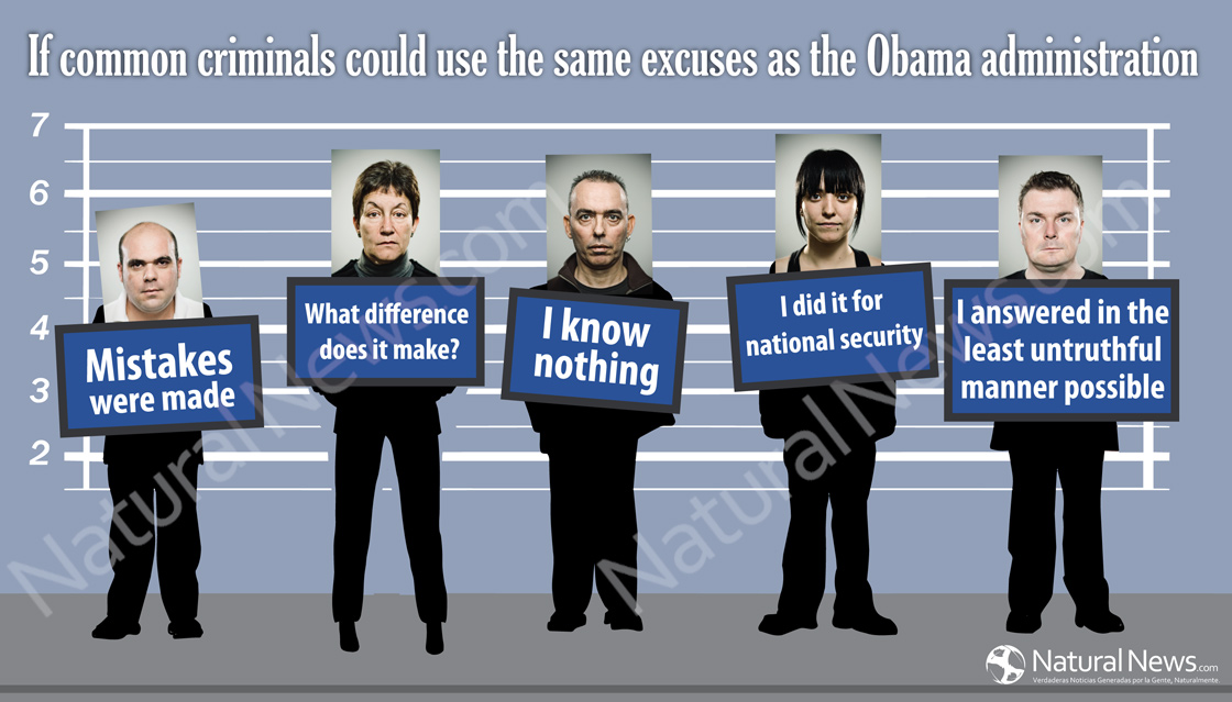 If Common Criminals Could Use the Same Excuses as the Obama Administration