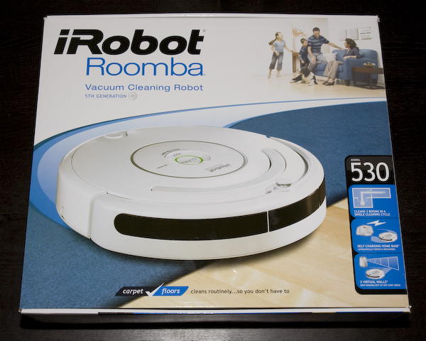 Roomba 530 Vacuum Robot Product Review Page 1