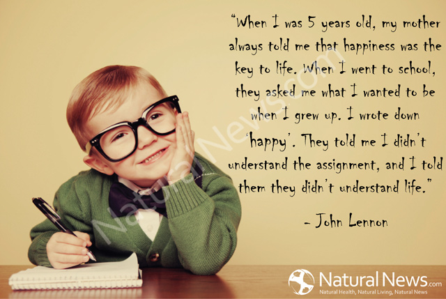 John Lennon Quotes When I Was 5 QuotesGram