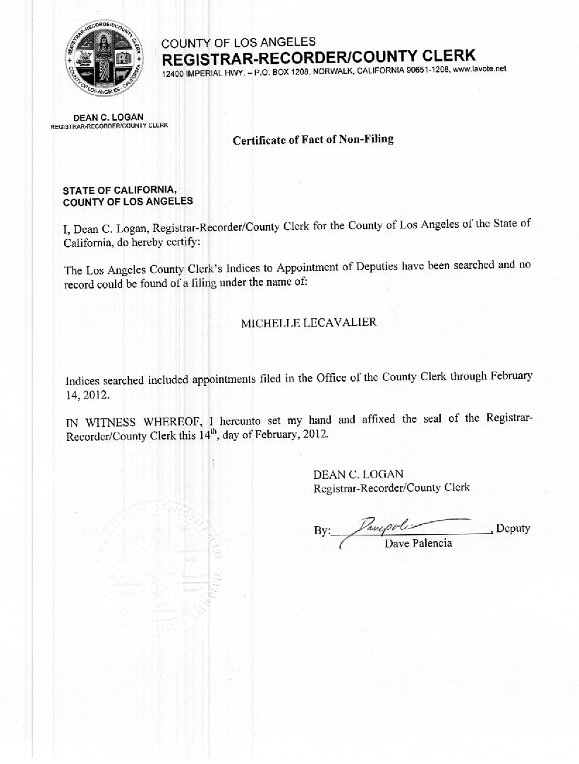 Http://www.naturalnews.com/rawesome/Certificate Of Fact Of Non Filing.  Oath Of Office Template