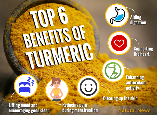 Top-6-benefits-of-Turmeric The six health benefits of turmeric Health [your]NEWS